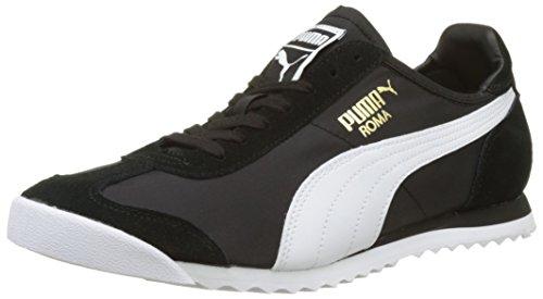 Puma Unisex-Erwachsene Roma OG Nylon Low-Top, Schwarz Black 01, 38 EU (Herren Roma Puma)