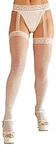 WIDMANN?Medias de Red Liga Womens, color blanco, talla única, vd-wdm4777W