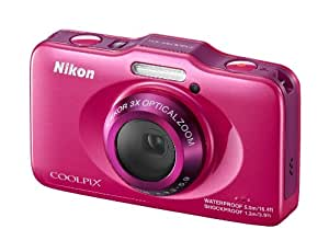 Nikon Coolpix S31 Waterproof & Shockproof Camera - Pink (10.1MP, 3xZoom, 29mm Wide Lens) 2.7 inch LCD (discontinued by manufacturer)