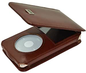 MTT Flip-Tasche für Apple iPod Classic Modelle - 30GB / 60GB / 80GB / 120GB / 160GB Video / in braun