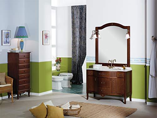Armadietti Da Bagno Italia : Mobile arredo bagno classico in noce grandi sconti idraulico