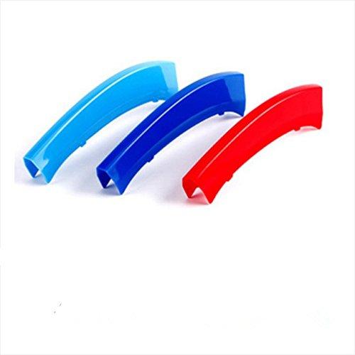 3 Farben 3D Frontgrill Grills Trim Streifen Abdeckung Leistung Dekoration Aufkleber für X3 X4 F25 F26