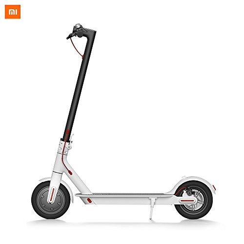 Xiaomi M365 Monopattino Elettrico Pieghevole, 12,5kg Ultra Leggero, Massima distanza 30km, Velocità massima 25 km/h, Carica Massima 100kg, Bianca