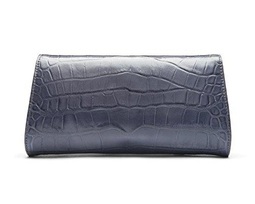 SAGEBROWN Melanie Bag Grey Croc