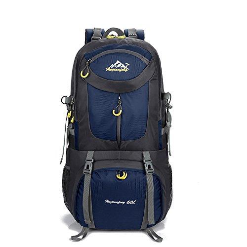 Wanderrucksäcke, Wandern Rucksack, Camping Rucksack / Reisen Rucksack / Trekking Rucksäcke / Casual Daypack Tasche für Outdoor Sport Wandern Trekking Camping Klettern Berg blue 3