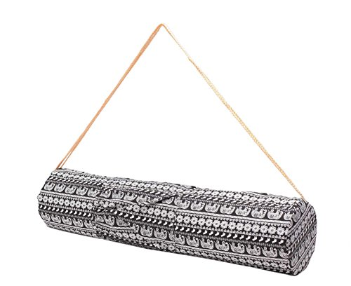 Pequeña bolsa de yoga »Rukmini« de #DoYourYoga / Hecha con un lienzo...