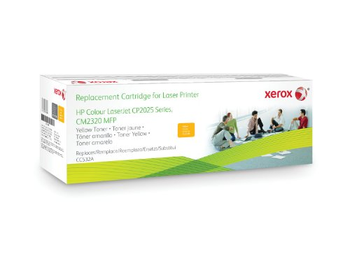 Preisvergleich Produktbild XEROX Original Toner gelb fuer HP LJ CP2025 CM2320 alternative zu CC532A 2.800Seiten