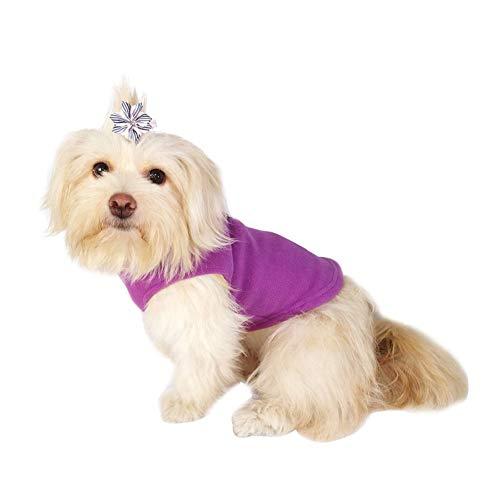 (Bluelucon Hundeweihnachts Mantel Haustier Hund in Santa Kostüm-Ausstattungs Anzug Mit LED Licht)