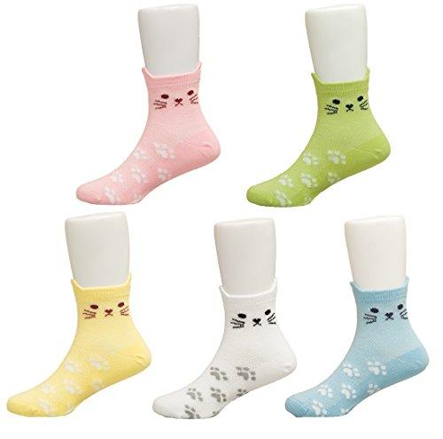 Maiwa Mädchen Socken mehrfarbig multi, mehrfarbig (Sport-socken Lightweight Baumwolle)
