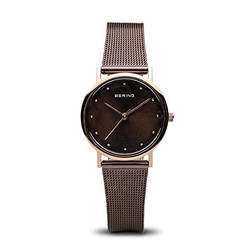 BERING Damen-Armbanduhr Analog Quarz Edelstahl 13426-265