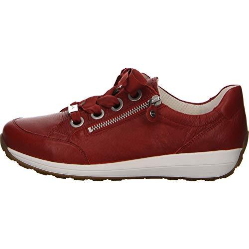 ARA Damen Osaka Sneaker, (Rot 10), 42.5 EU