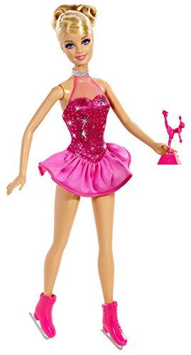 Mattel Barbie BDT26 - Puppe, Ich wäre gern Eiskunstläuferin