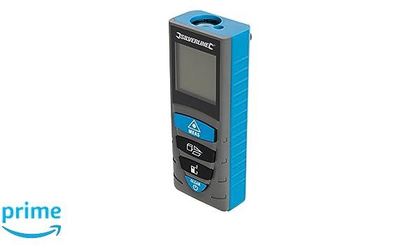 Kaleas Profi Laser Entfernungsmesser Ldm 500 60 Bedienungsanleitung : Silverline laser entfernungsmesser 1 stück blau 727787: amazon.de
