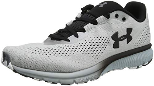 Under Armour Herren UA Charged Spark Laufschuhe, Grau (Metallic Silver/Black 100), 43 EU