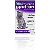 PET-119104 Desparasitante para gatos Johnsons Fipronil Spot On Cat (15wk)