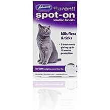 PET-119104 Desparasitante para gatos Johnsons Fipronil Spot On Cat ...