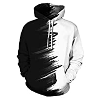 Unisex Hoodie Autumn and Winter 3D Digital Printing Couple Long Sleeve Hooded Sweater Sports Baseball Uniform