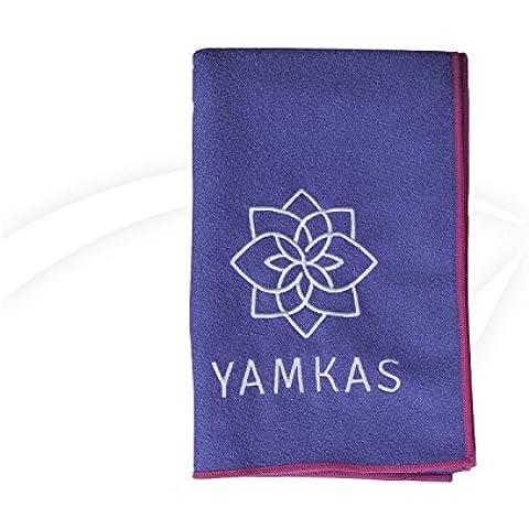 Yoga mat tovagliolo Towel da Yamkas - in 100% microfibra