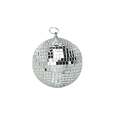 "10cm (4"") Plain Glass Mirror Ball"