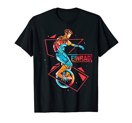 Tolles Einrad Artist Zirkus T-Shirt für Einradfahrer