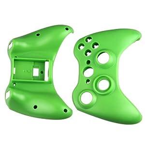 Ecloud Shop Grün Gehäuse Case Hülle + Tasten Knöpfe Button für XBox 360