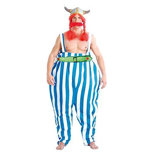 Obelix Kostüm - Schwerer Gallischer Kämpfer Kostüm für Herren