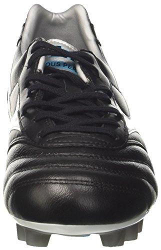 Mizuno Mens Morelia Classic Md Scarpe Da Corsa Multicolore (nero / Bianco / Blueatoll 02)