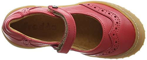 FRODDO Froddo Girls Mary Jane Shoes, Mary Jane fille Rouge - Rouge