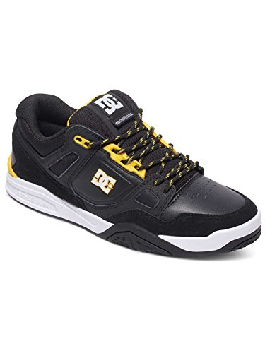 DC Universe Stag 2, Baskets Basses Homme Black/yellow