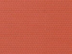 Auhagen 52.216,0 - Techo de Paneles de Castor, 10 x 20 cm Superficie de la Estructura, Colorido