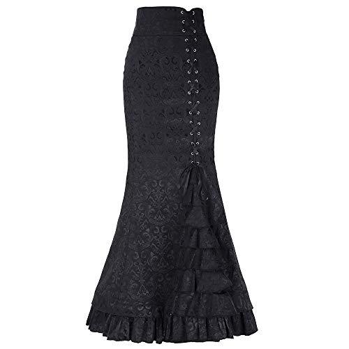 FAMILIZO Faldas Largas Y Elegantes Faldas Cortas Mujer