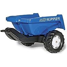 128846 Rolly Rolly Toys remolque II, azul, trailer