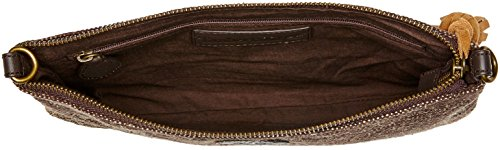 Timberland Tb0m5772, Borsa a Mano Donna, 1x18.5x27 cm Marrone (Chocolate Brown)