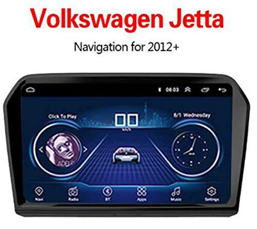 Buladala Android Autorradio GPS Navegación por Volkswagen Jetta 2013-2017,Soporte Mandos De Volante Mirror-Link Dab USB Bluetooth MP5 Player,WiFi:1+16G