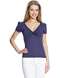 Vive Maria Damen T-Shirt Sweet Navy Shirt