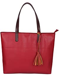 Osaiz Marron Coloredn PU Leather SHoulder And Hand Bag For Women , Girls & LAdies For Every Occasion And Style.