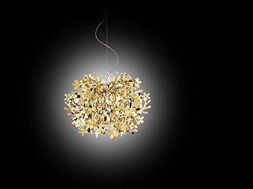 Lampadario Fiorella Slamp : Slamp acrilico lampada a sospensione fiorella in oro manifattura