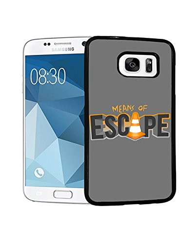Escape Plan & [ Film ] Galaxy S7 Ultra dünn Rück Hülle Christmas Gifts für Jungen. Escape Plan Vintage Pattern für Samsung S7 Handy hülle. Escape Plan Samsung Galaxy S7 (Halloween Filme Disney Original)
