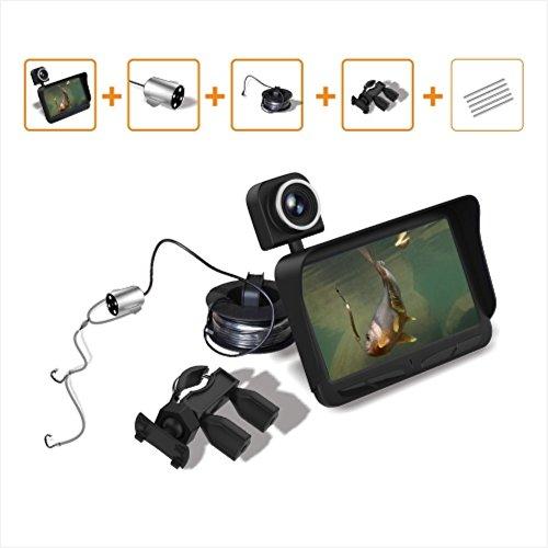 BAITER 720P Resolución de video Fish Finder pesca submarina cámara H