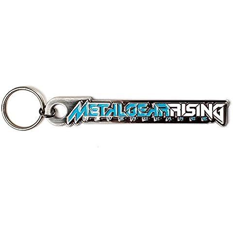 Metal Gear Rising metal Tecla del logotipo de la cadena
