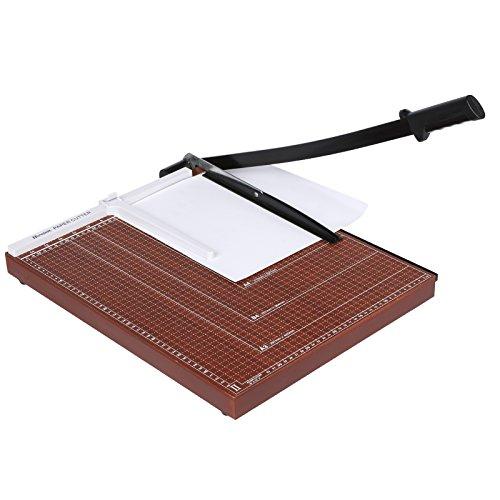 Homdox Profi A3 Papierschneider Schneidemaschine Hebelschneider Schneidegerät Fotoschneider Schrottmaschine Papier Foto Holz