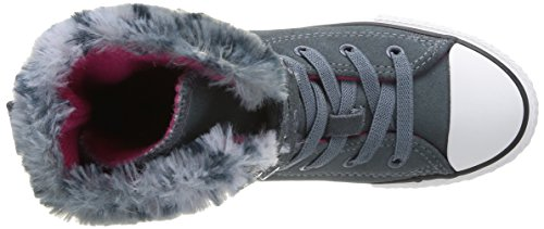 Converse Chuck Taylor All Star Junior Animal Fur Hi 384520 Mädchen Sneaker Grau (12 Gris) cl8ekk