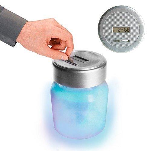 Salvadanaio Digitale a LED Schermo LCD Conta Euro Soldi
