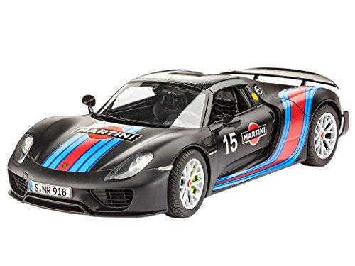 Revell 07027 - Porsche 918 Spyder con Confezione Weissach Kit di Modello, in Plastica, in (Porsche Parti Di Motore)