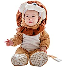 imballaggio forte saldi ultimo design Amazon.it: Costume leone bambino