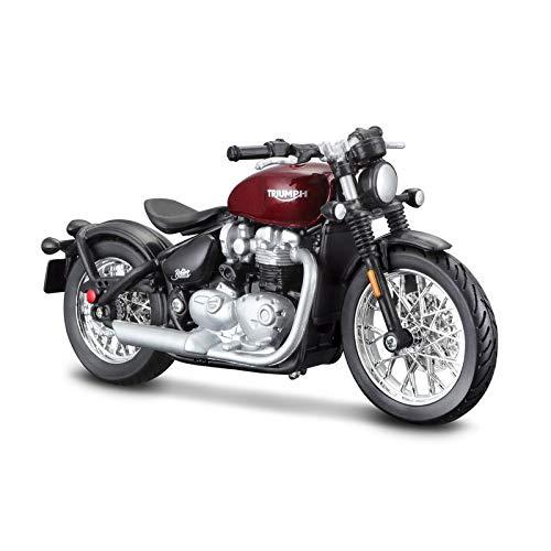 Bburago Triumph Bonville Bobber Motocicleta Modelo Escala 1/18