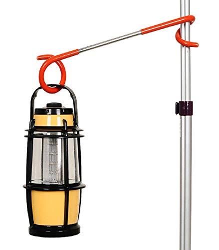Vaycally 1 stücke Zelt licht anhänger Weg laternenlicht Lampe kleiderbügel Zelt Pole Post Haken hängen Garage terrasse Tor Schuppen terrasse fischen tragbare für Indoor Outdoor Camping verwenden (Tragbare Garage Zelt)