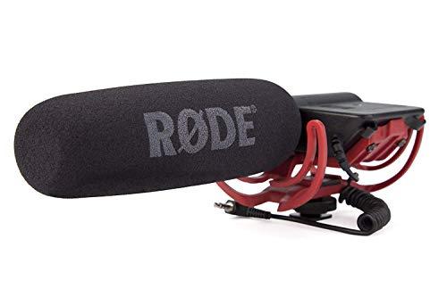 RØDE Kamera- und Audiomikrofon mit Rycote Lyre Halterung für Canon Nikon DSLR