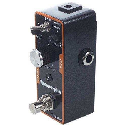 TOOGOO(R) Efectos Pedal Distorsion RAT para Guitarra Eletrica Vintage/Turbo Negra