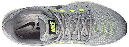 Nike Herren Air Zoom Vomero 12 Laufschuhe Grau Grisloup